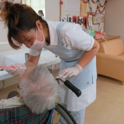 訪問先での歯科診療や口腔ケア